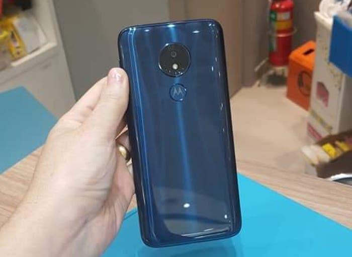 El Motorola Moto G7 Power filtrado por completo antes de su presentación: imágenes, características y precio