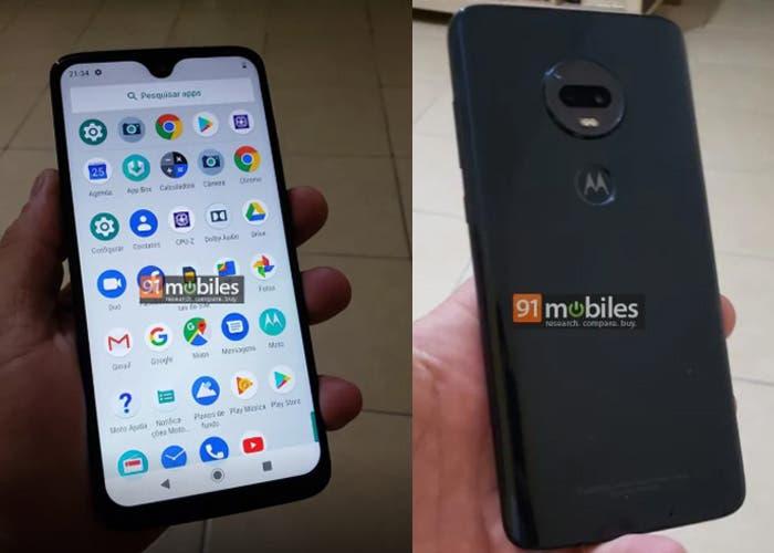 Motorola Moto G7 Plus: las primeras imágenes reales antes de su presentación