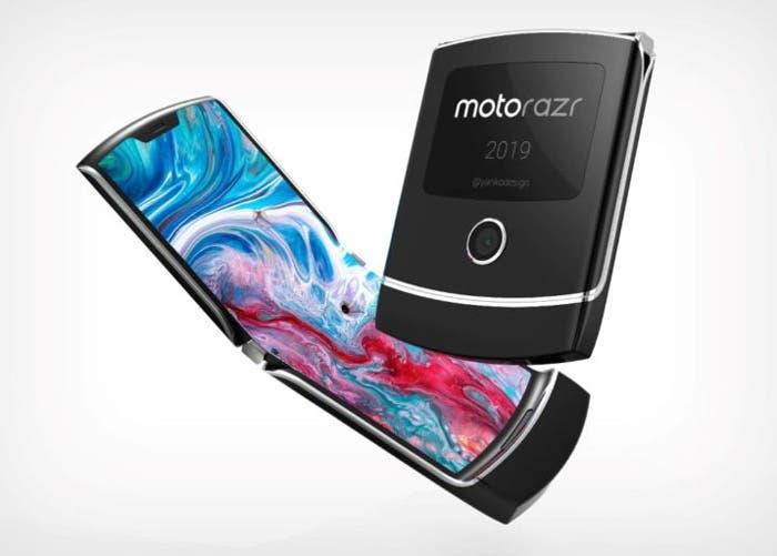 El móvil plegable de Motorola tendrá dos pantallas, una de ellas en el exterior