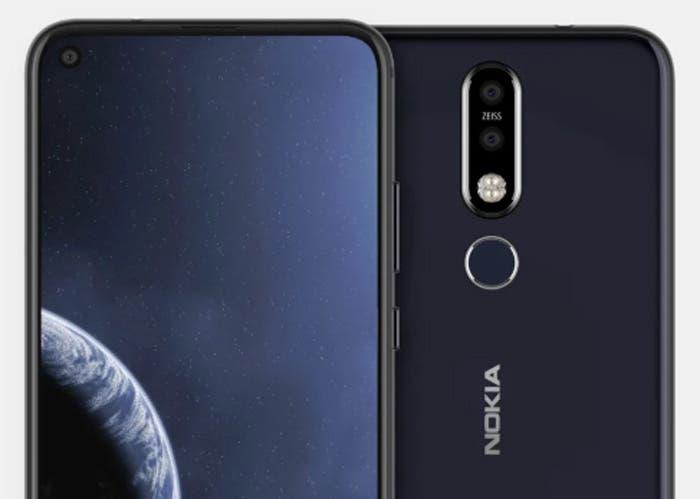 Nokia 6.2: el primer Nokia con agujero en pantalla sería presentado en el MWC 2019