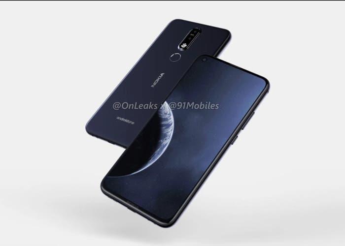 Así es el Nokia 8.1 Plus: agujero en pantalla y doble cámara ZEISS