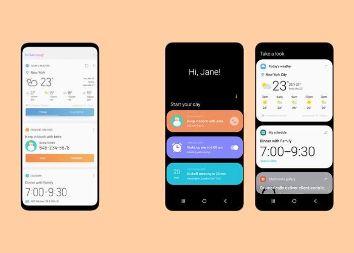 Samsung explica las novedades que vienen con One UI