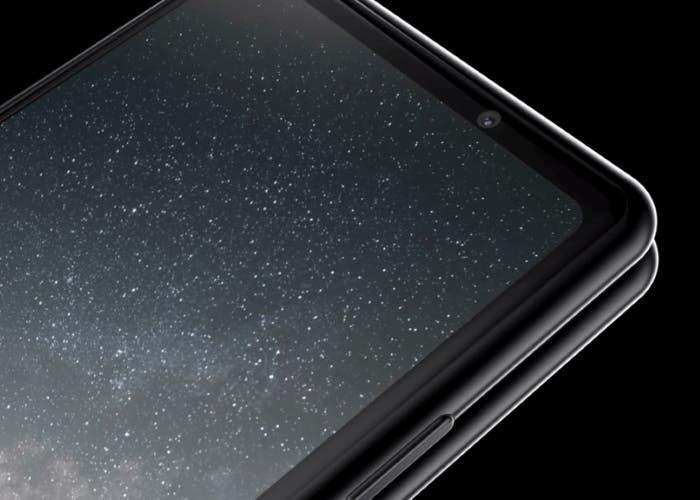 El teléfono plegable de Samsung podría montar el sensor Sony IMX374