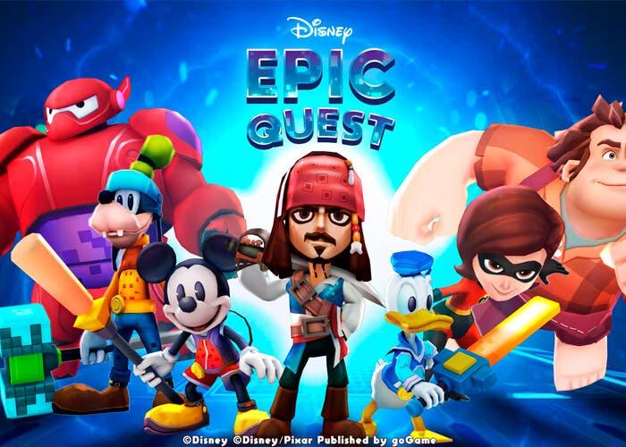 Disney Epic Quest: un nuevo juego de rol en vertical muy interesante