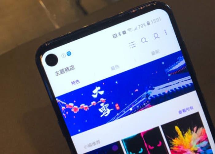 El Samsung Galaxy A60 llegaría en abril con la pantalla Infinity O