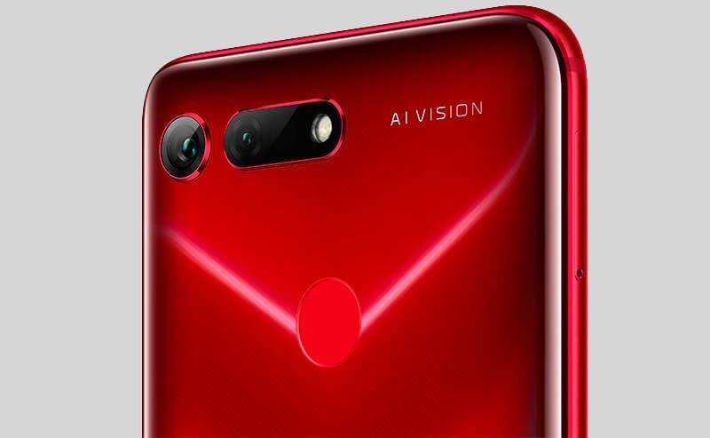 Honor View 20 rojo