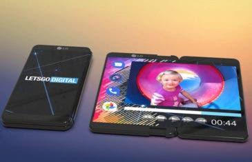 Así sería el móvil plegable de LG según los primeros renders