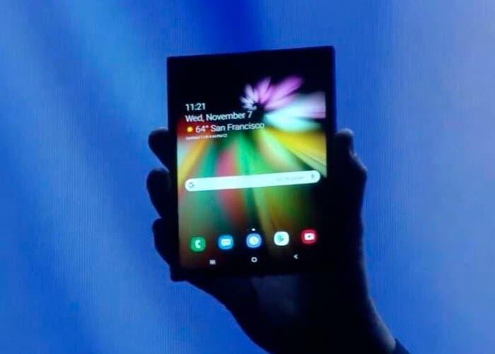 El teléfono flexible de Samsung llegará en 2019