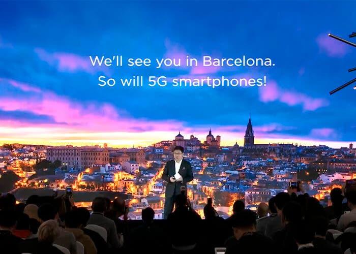 Huawei presentará su teléfono 5G plegable en el MWC 2019