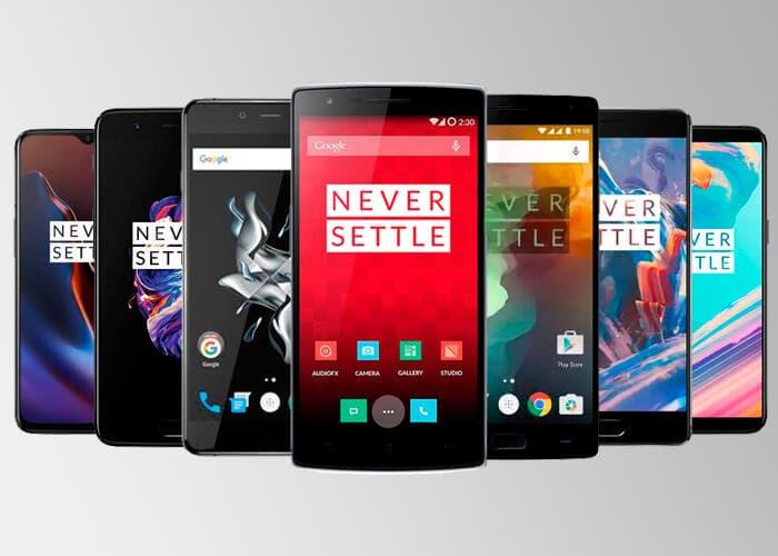 Así ha cambiado el diseño de OnePlus con el paso de los años