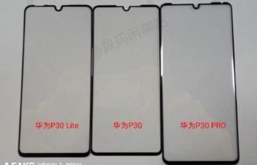 Aparecen unos supuestos protectores de pantalla para las versiones del Huawei P30