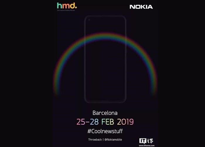 El Nokia 6.2 aparece en un cartel de la marca para el MWC