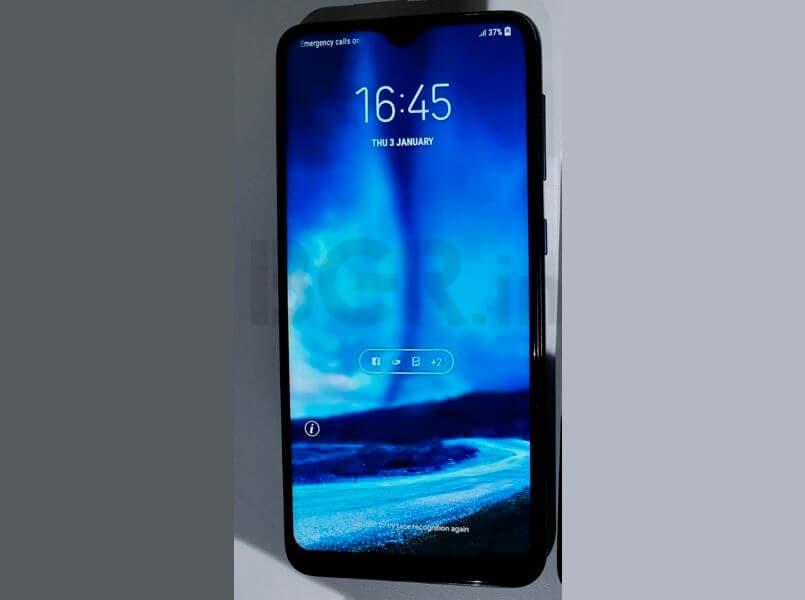 Samsung Galaxy M10 filtrado