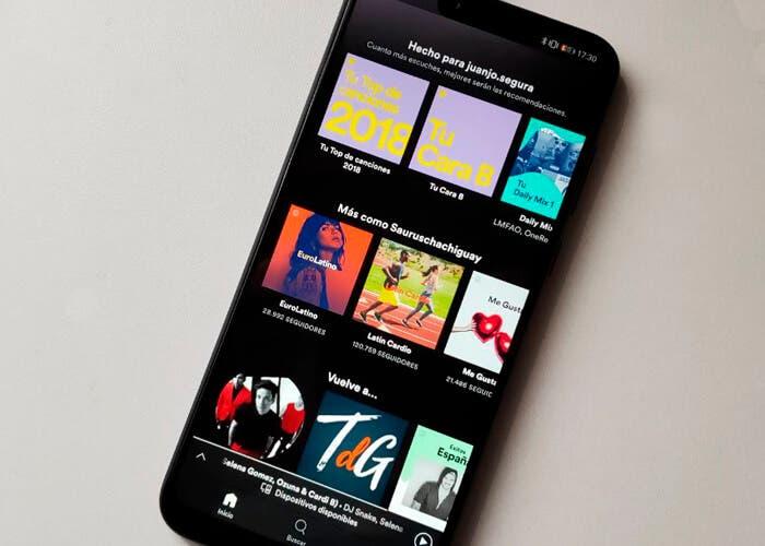 Spotify trae una novedad muy esperada en Android 10: línea de tiempo en la notificación