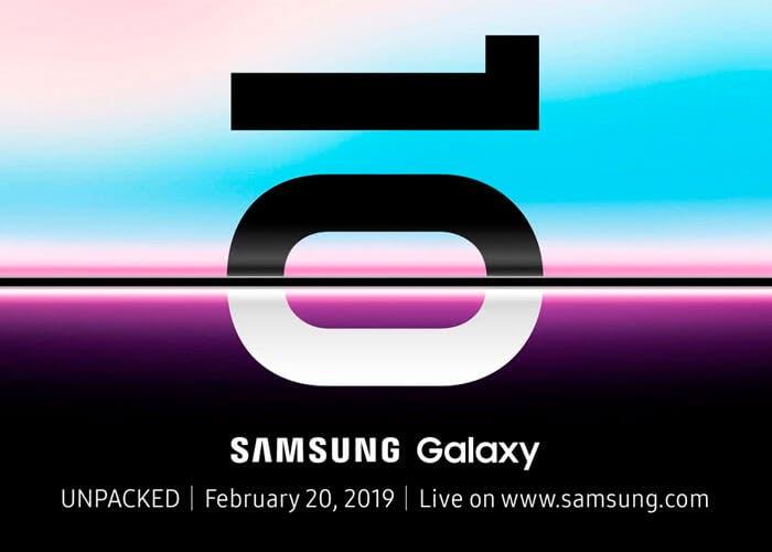 El Samsung Galaxy S10 se presentará antes del MWC 2019. Es oficial