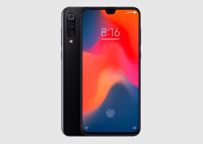 Así podría ser el nuevo Xiaomi Mi 9 según este render
