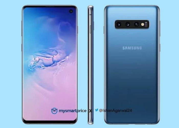 Samsung Galaxy S10: se confirma la versión azul y el jack de auriculares