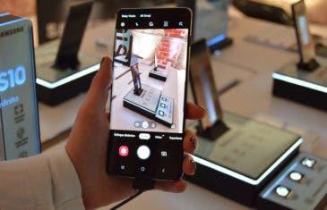 El Samsung Galaxy S10 ya tiene el modo noche en su app de cámara