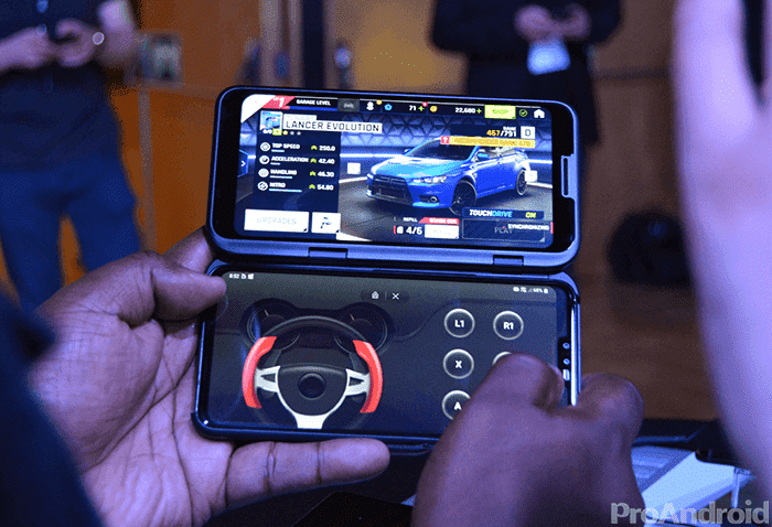 Primeras imágenes del LG V50 ThinQ con Android 10