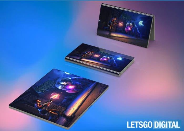 El móvil plegable de Huawei aparece en los primeros renders