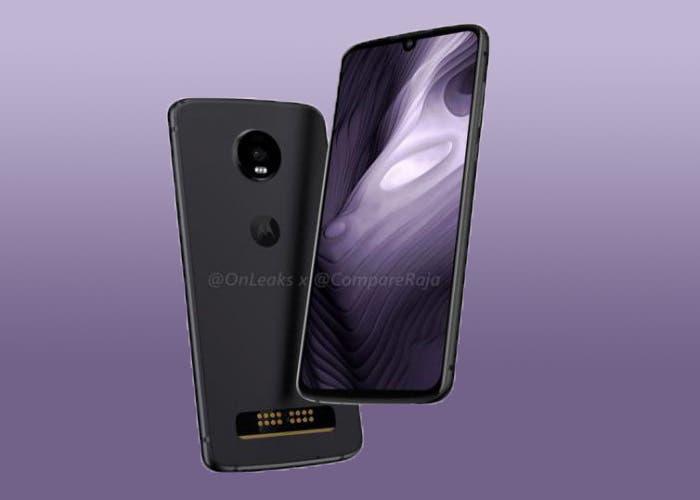 El Motorola Moto Z4 Play llegaría con sensor de huellas en pantalla y cámara de 48 megapíxeles