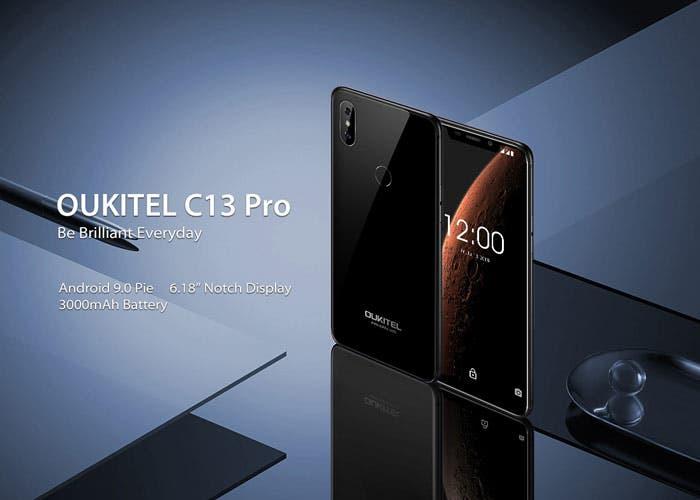 El Oukitel C13 Pro llegará a principios de marzo con Android 9 Pie
