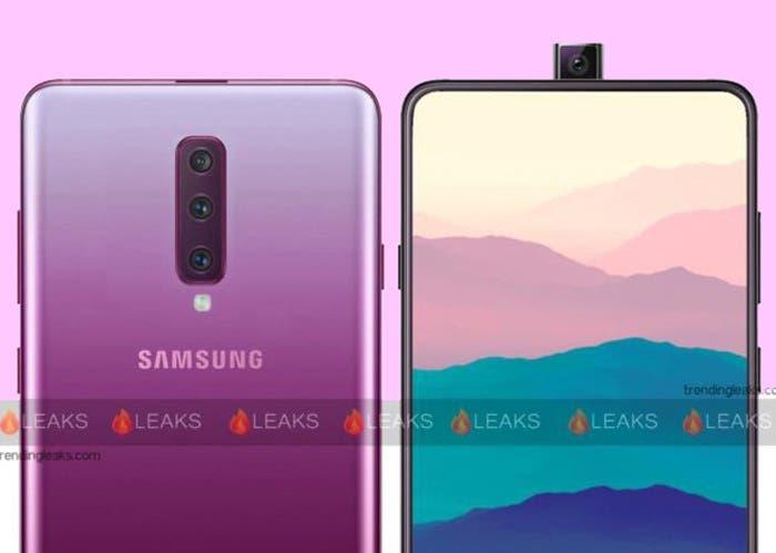 El Samsung Galaxy A90 podría llegar con una cámara rotatoria y deslizante