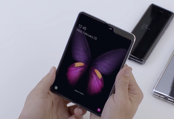 Filtrado el próximo móvil plegable de Samsung: pantalla hacia fuera como el Mate X