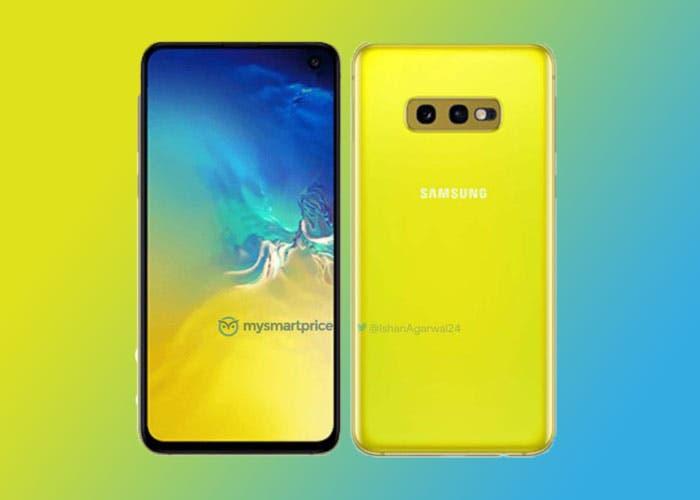 Samsung Galaxy S10e Canary Yellow: los primeros renders de la versión amarilla