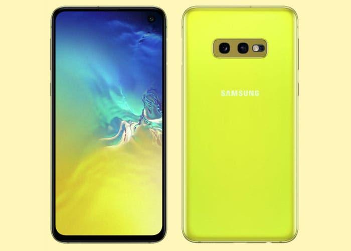 El Samsung Galaxy S10e amarillo se filtra en renders HD