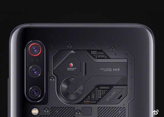 Xiaomi Mi 9 Explorer Edition: la carcasa transparente no es real