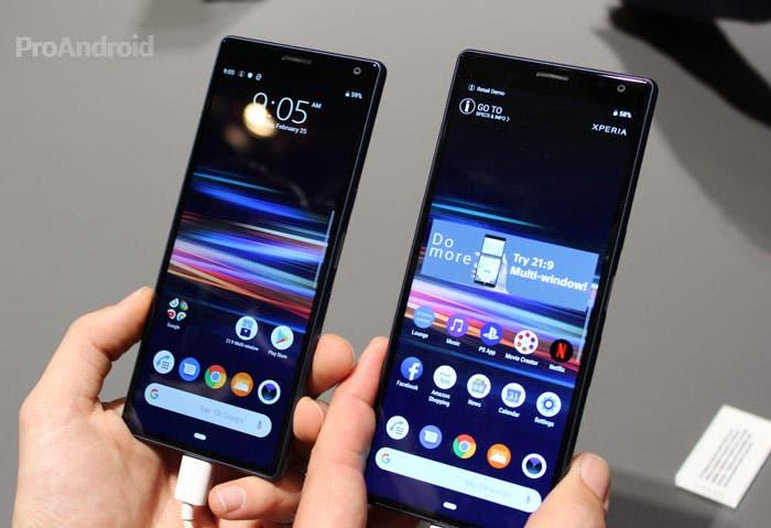 Los Sony Xperia 10 y Xperia 10 Plus son oficiales: la renovación de la gama media