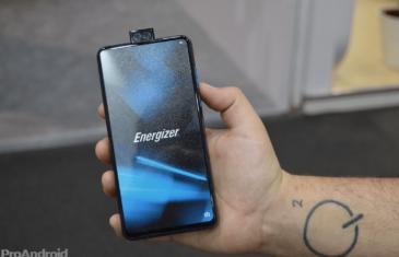 Energizer pone a la venta su móvil de 18.000 mAh