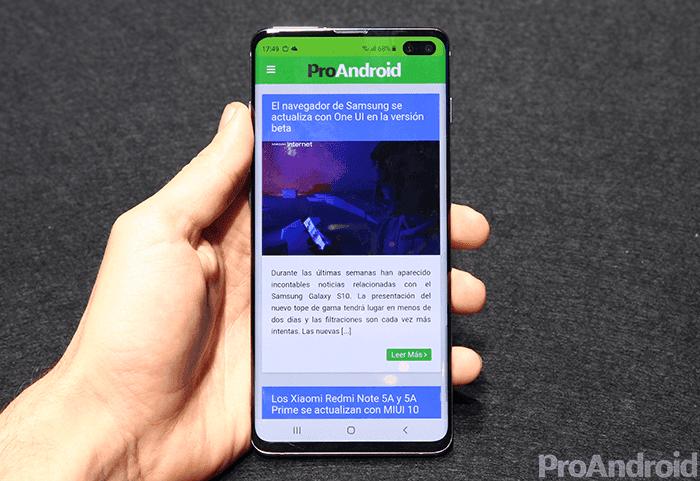 La primera oferta del Samsung Galaxy S10+ ya disponible en Amazon