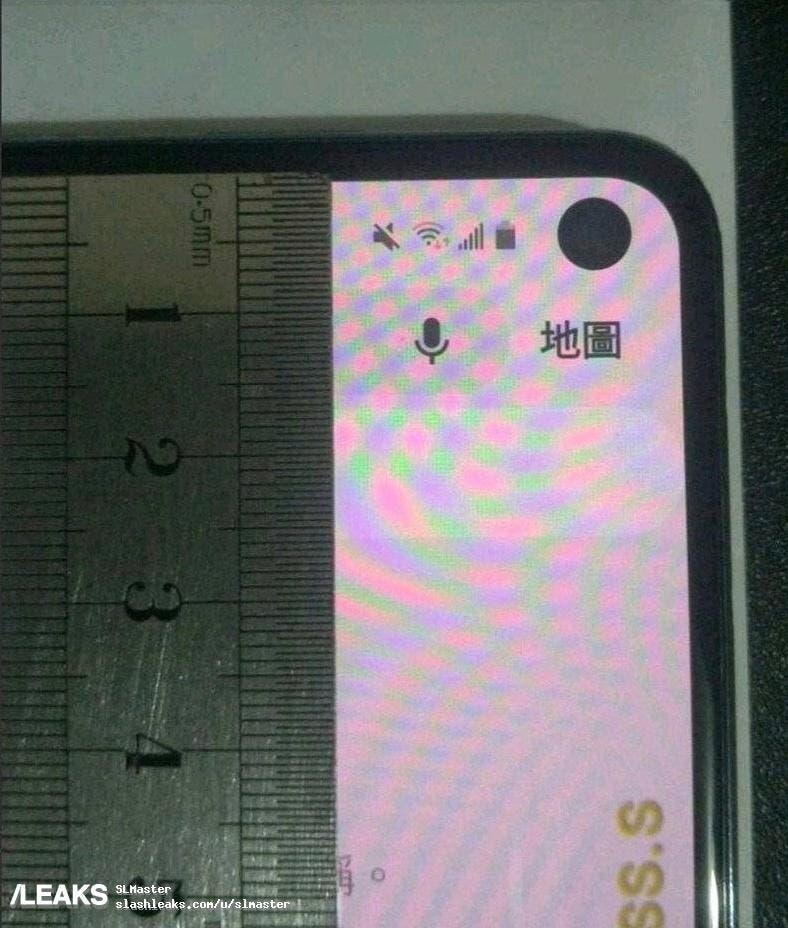 Galaxy S10e imagen real