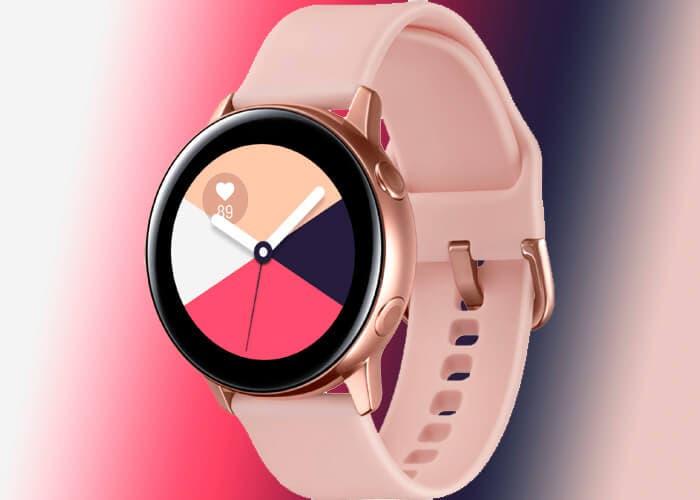 Samsung Galaxy Watch Active: nuevos renders y funciones para el reloj de Samsung