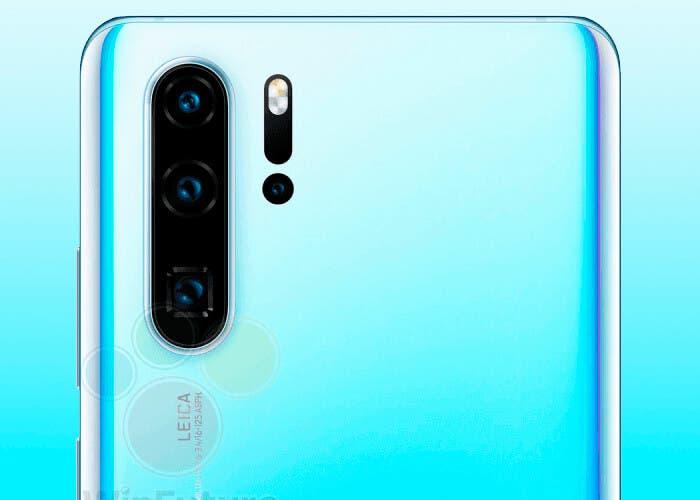 Ahora sí. El Huawei P30 Pro y el P30 aparecen en imágenes de prensa