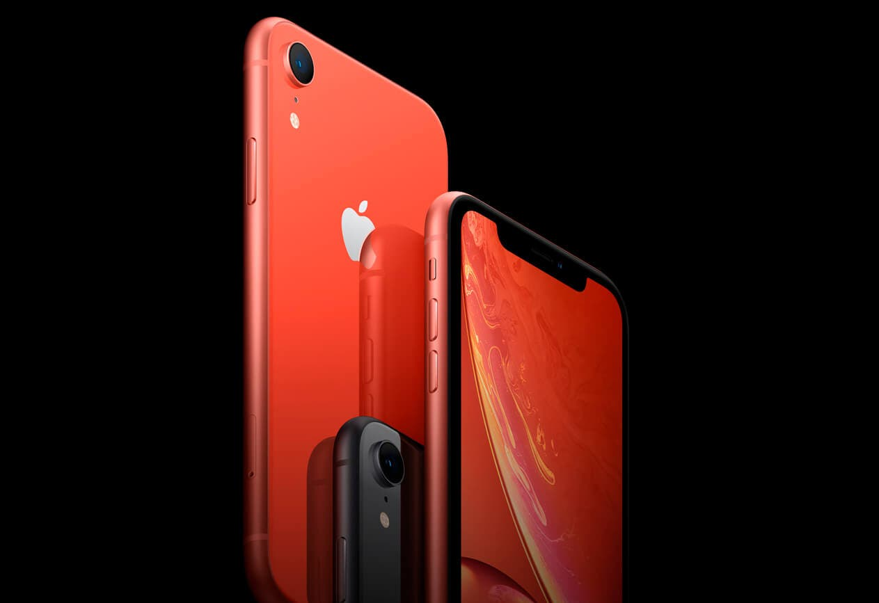 iPhone XR rojo