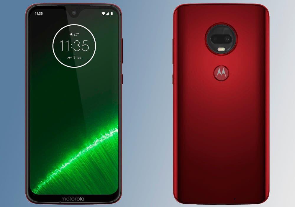 Motorola Moto G7 Plus rojo