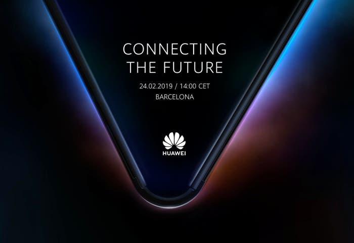 Huawei anuncia el evento para presentar su móvil plegable 5G