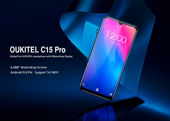 Más detalles sobre el Oukitel C15 Pro apuntan a un modelo de gama de entrada