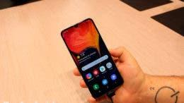 Samsung Galaxy A50 pantalla
