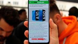 Primeras impresiones del Samsung Galaxy A50