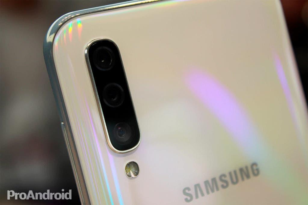 Cámaras del Samsung Galaxy A50