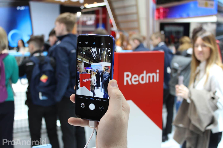 Redmi Note 7 cámara