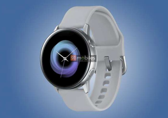 Diseños oficiales filtrados del Galaxy Watch Active, Galaxy Fit y Galaxy Buds