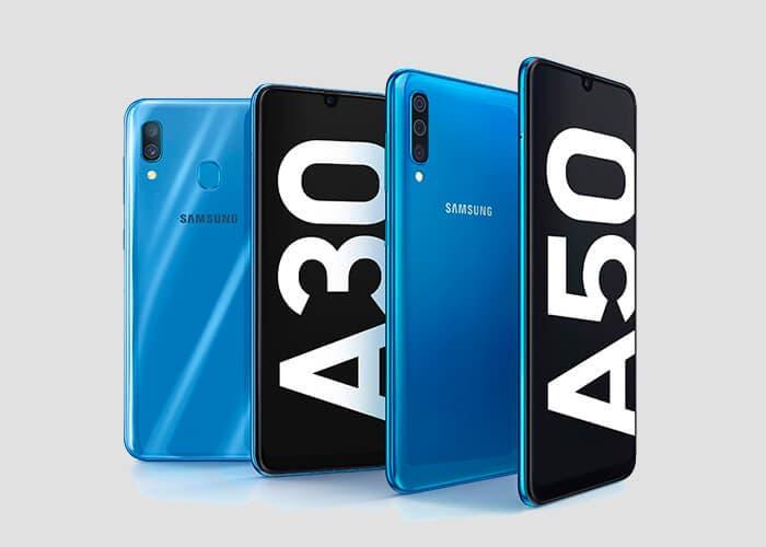 Los Samsung Galaxy A50 y A30 son oficiales por sorpresa