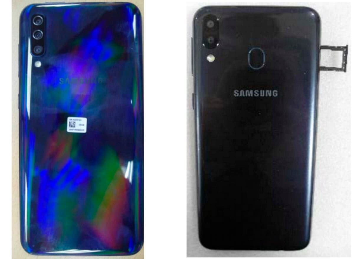 Samsung Galaxy A50 y A30