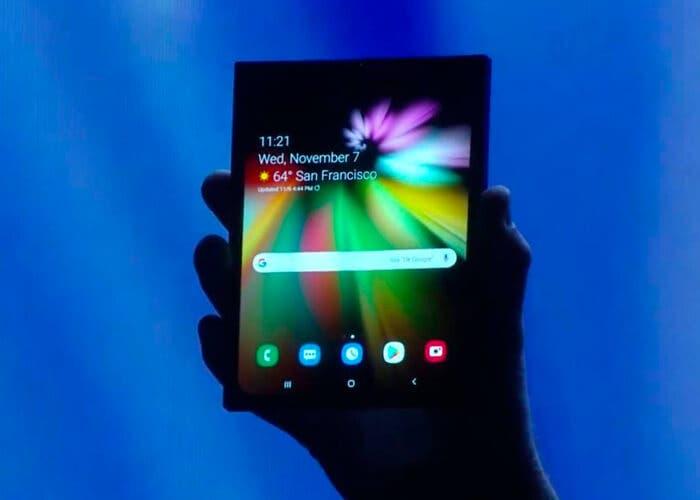 Samsung Galaxy Fold. Así se llamará el primer teléfono plegable de Samsung