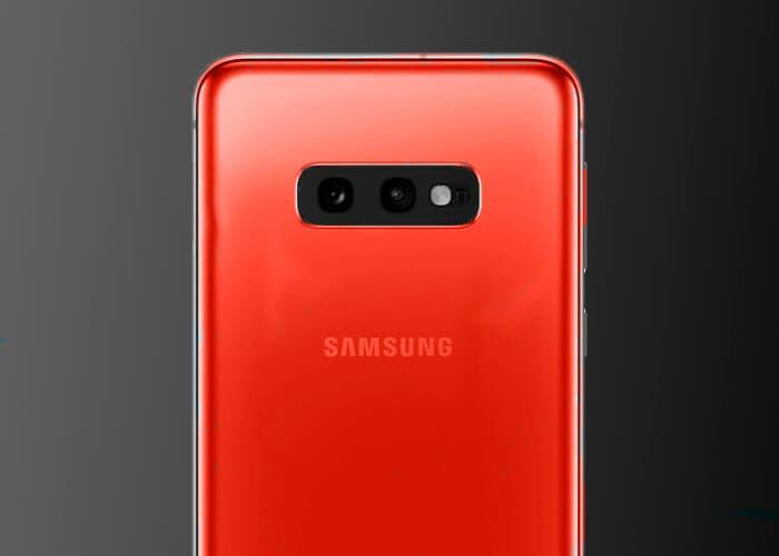El Samsung Galaxy S10 llegará en color rojo compitiendo con el iPhone XR